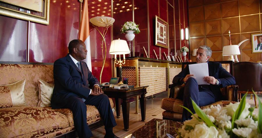Alassane Ouattara, Marwane Ben Yahmed