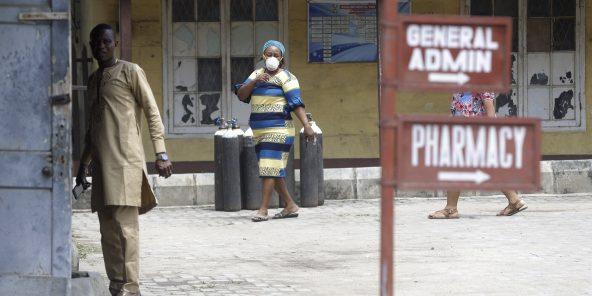 L'hôpital Yaba Mainland, à Lagos, au Nigéria, le 28 février 2020