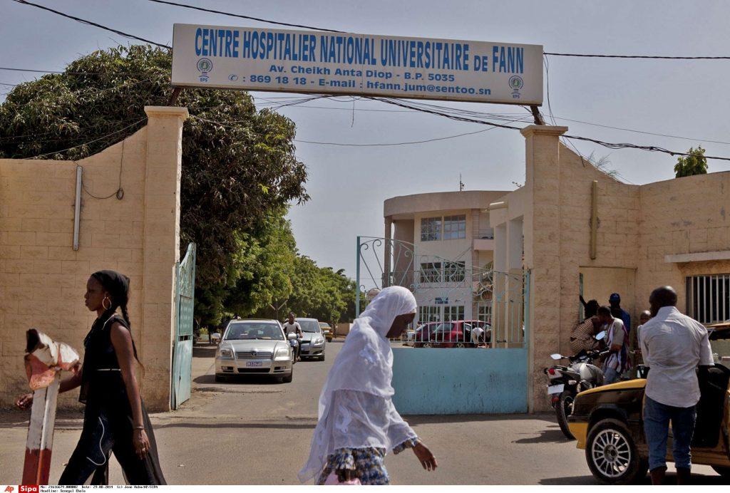 Le CHU de Fann, à Dakar, en août 2014.