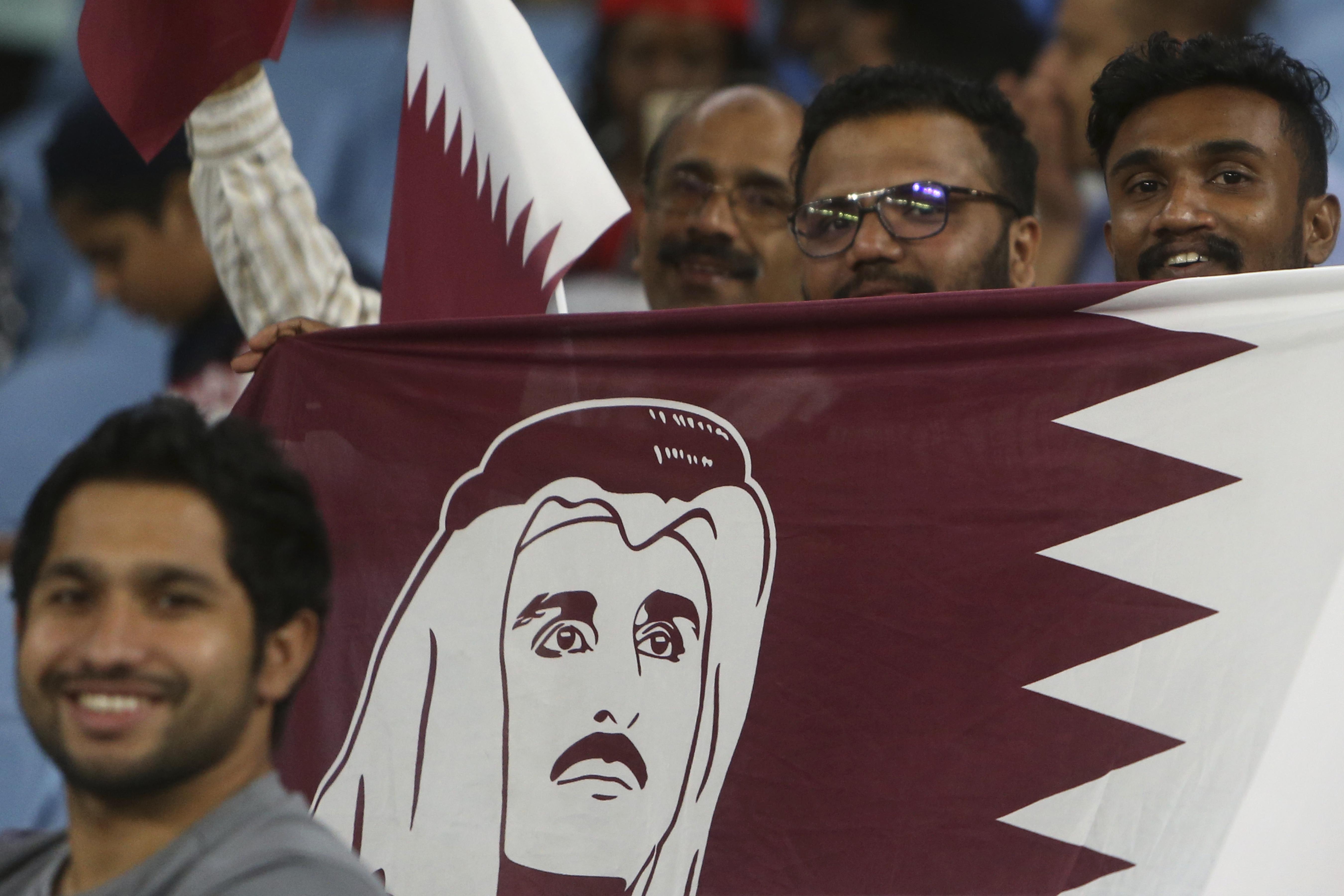 Qatar Oman Soccer