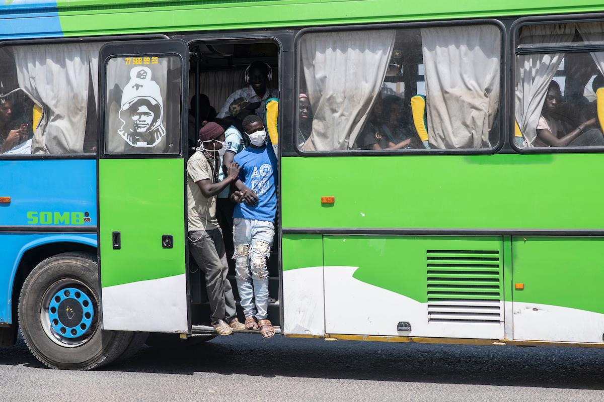 Les étudiants ont pu bénéficier d'une centaine de bus.
