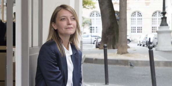 La romancière française Anne-Sophie Stefanini.