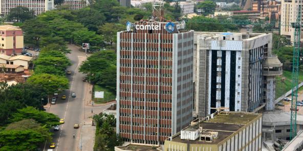 Le siège de Camtel à Yaoundé