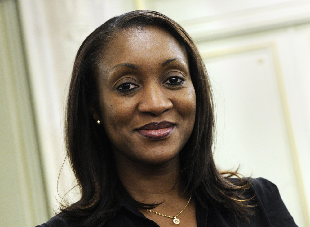 Masséré Touré, conseillère en communication du président ivoirien.