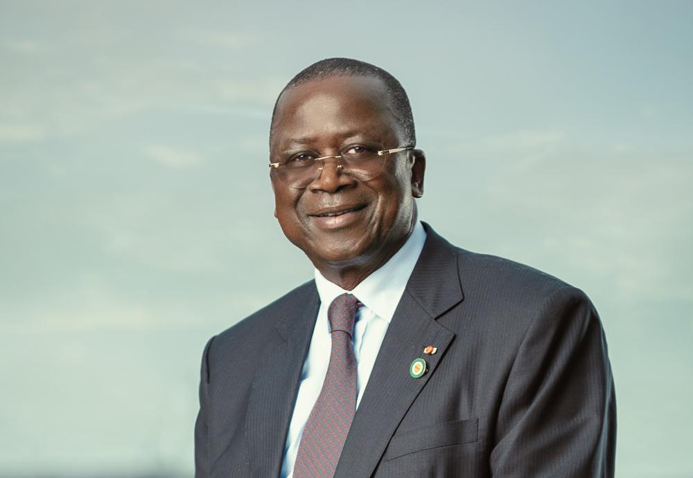 Jeannot Ahoussou Kouadio, président du Sénat ivoirien.
