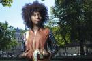 La chanteuse hip-hop malienne Inna Modja à Paris, le 10 septembre 2015.