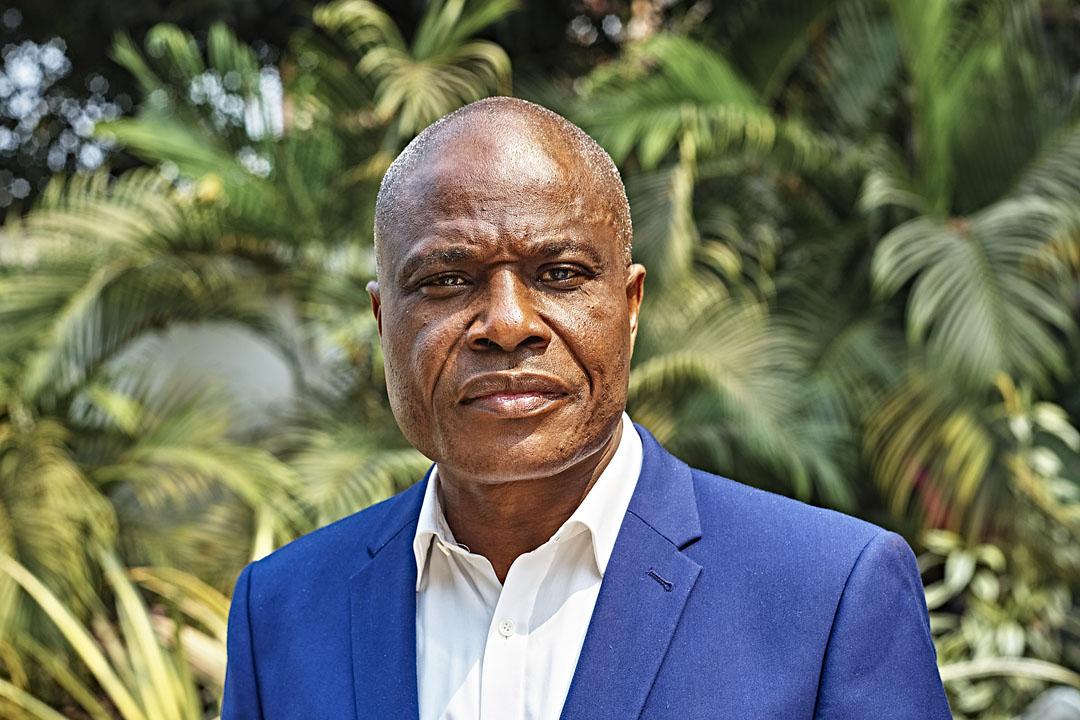 Martin Fayulu, ex-candidat à la présidentielle en RDC.