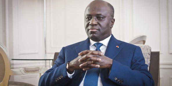 Marcel Amon-Tanoh, l'ancien ministre des Affaires étrangères de Côte d'Ivoire, à Paris, le 4 juillet 2019.