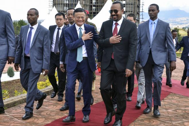 Qui ouvre les portes de l'Afrique à Jack Ma ?