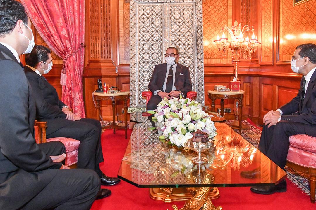 Le roi Mohammed VI reçoit Saaid Amzazi et le charge des fonctions de porte-parole du gouvernement.