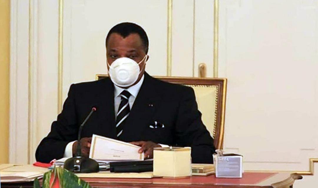 Le président Denis Sassou-Nguesso.