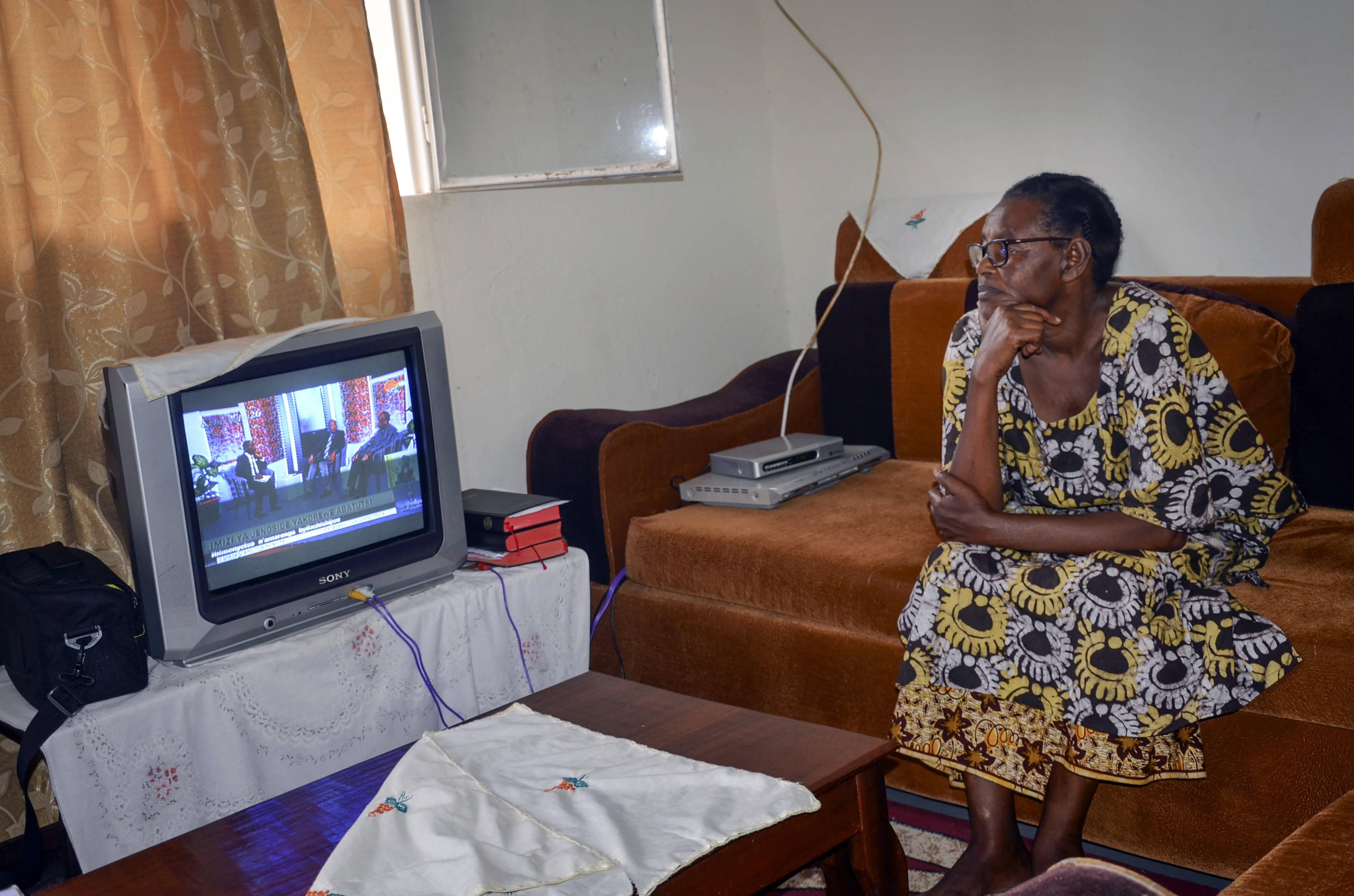 Mary Bahizi, qui a perdu son mari en 1994, ne peut pas commémorer l'anniversaire du génocide des Tutsi au Rwanda à cause du confinement, le 7 avril 2020.