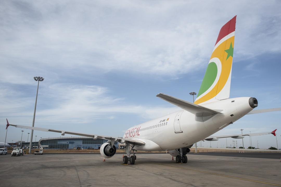 À l'aéroport international Blaise-Diagne (AIBD) de Diass, près de Dakar.
