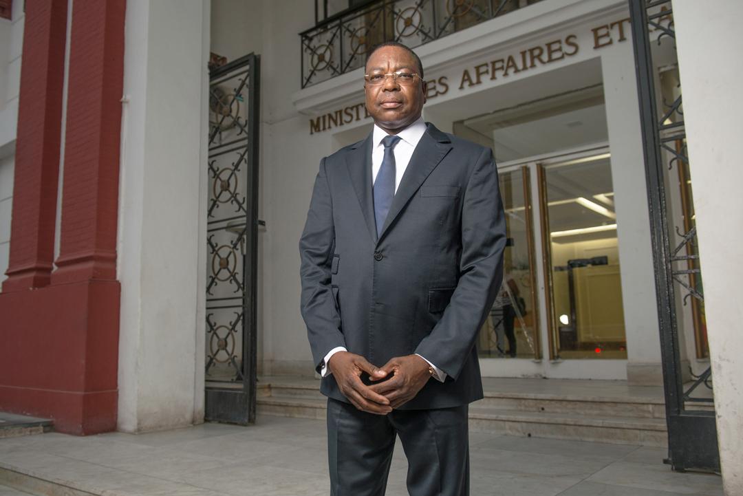 Mankeur Ndiaye, ancien ministre sénégalais des Affaires étrangères, ici le 18 octobre 2016.