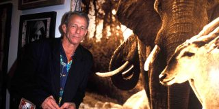 Peter Beard,à Miami, en 2001.