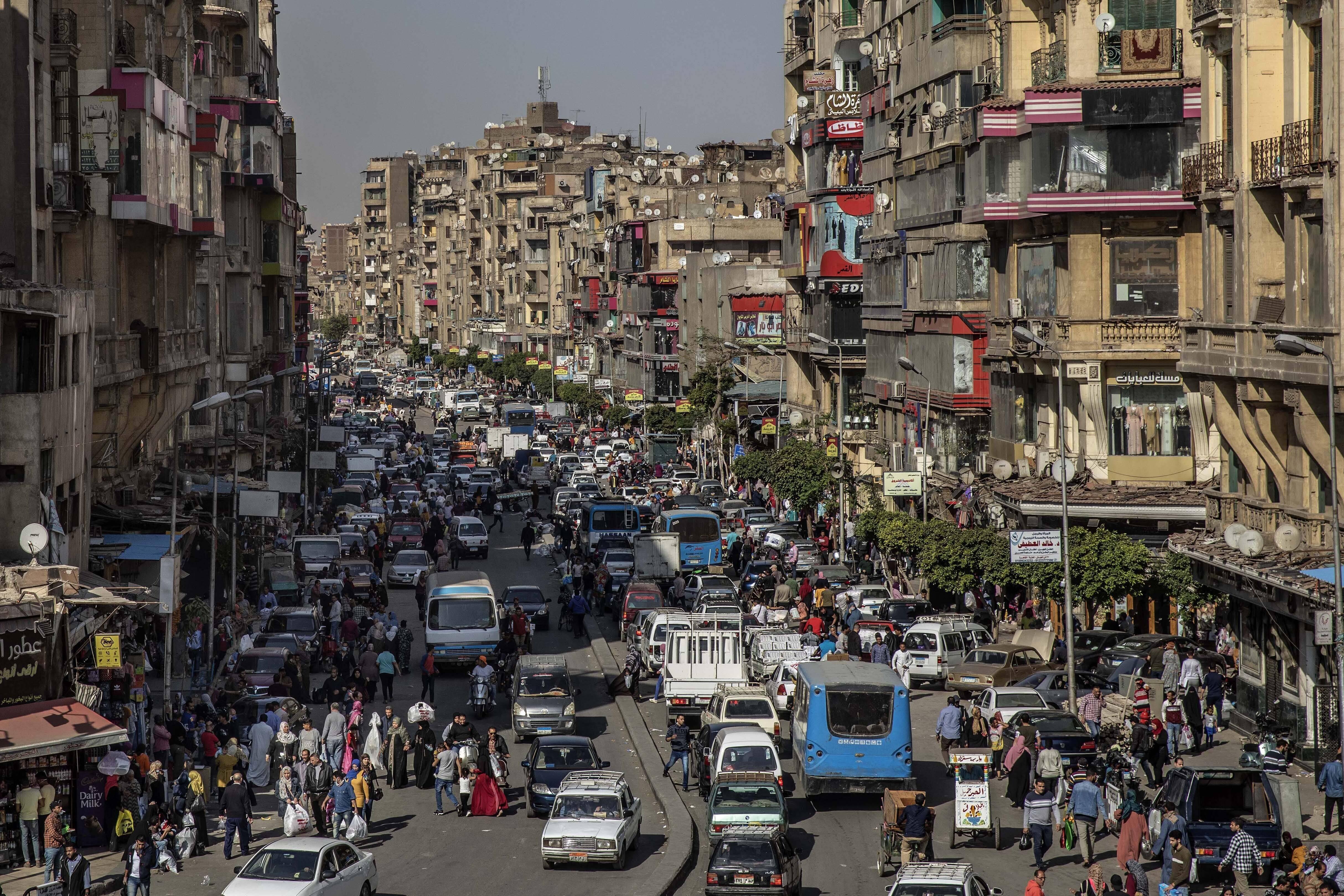 Une rue du Caire, le 14 avril 2020.
