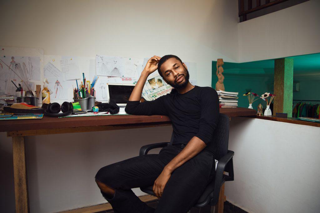 Zak Koné, styliste de Grand-Bassam