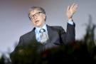 Bill Gates à Berlin en 2018 au forum sur le potentiel d'innovation en Afrique.
