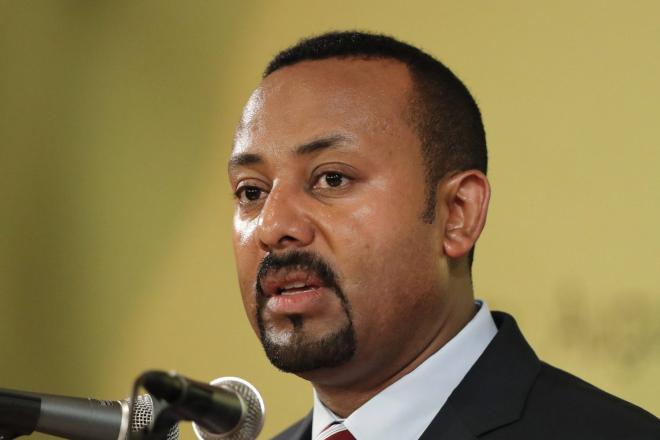 Abiy Ahmed, premier ministre éthiopien.