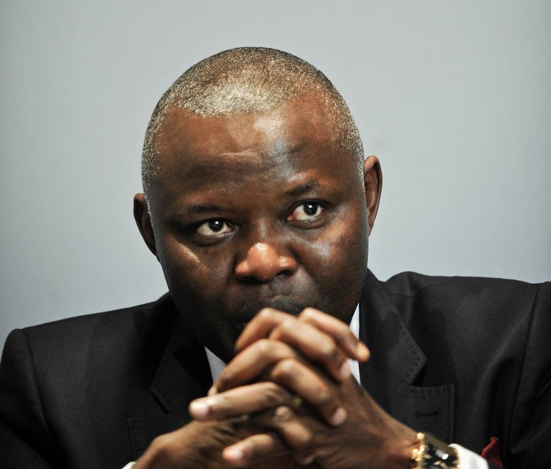 Vital Kamerhe, ancien président de l'Assemblée nationale, directeur de cabinet de Félix Tshisekedi. Ici à Paris, dans les locaux de Jeune Afrique, le 20 août 2013.