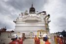 Navire flottant de stockage et de déchargement de production (FPSO), un projet exploité par le français Total, novembre 2018.