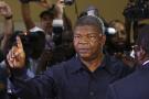 Joao Lourenço, alors ministre de la Défense et candidat, lors de la présidentielle angolaise, en août 2017.