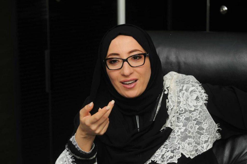 Samira Bezaouia, créatrice de la chaîne Samira TV