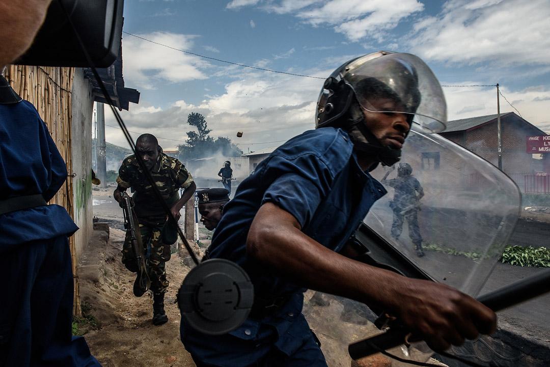 Le 13 mai 2015 à Musaga, un quartier de Bujumbura.
