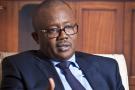 Umaro Sissoco Embalo, president de la Republique de Guinee Bissau, elu suite à l'élection presidentielle de décembre 2019. A Paris, le 21.01.2020.