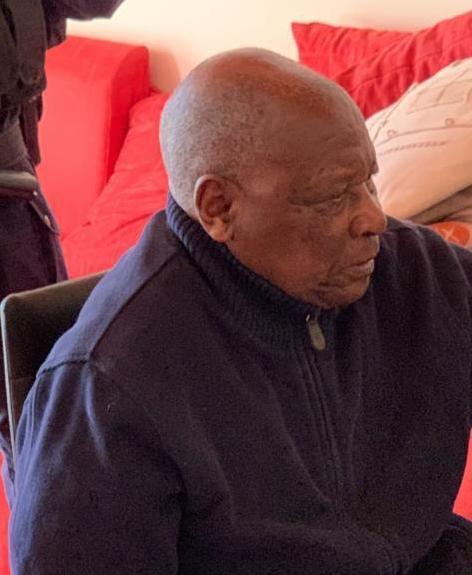 Félicien Kabuga, le 16 mai 2020, jour de son arrestation près de Paris.