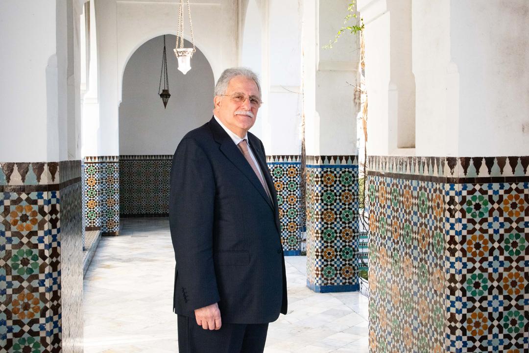 Chems Eddine Hafiz, le recteur de la Mosquée de Paris.