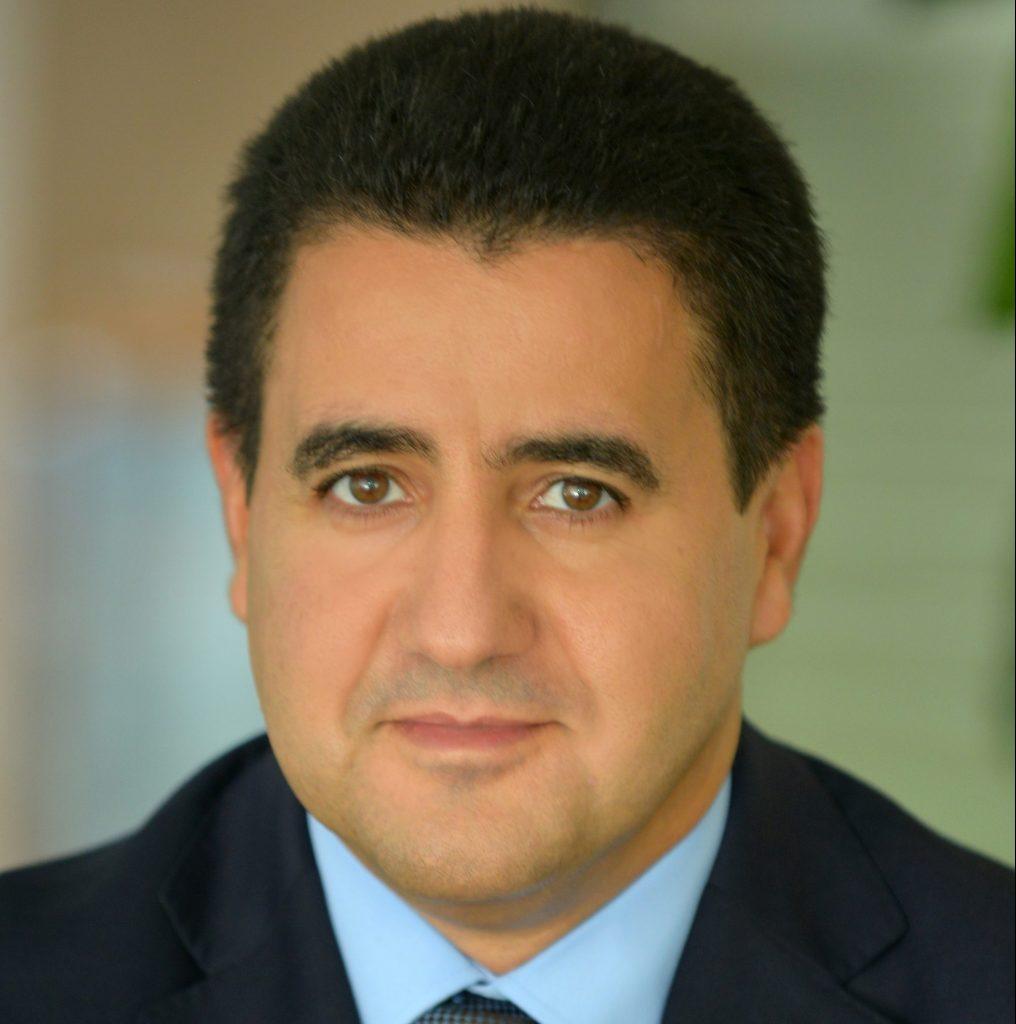 Otmane Serraj, président de l'AMRC.