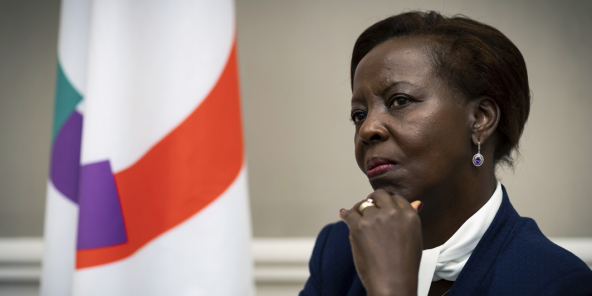 Louise Mushikiwabo, generální tajemnice OIF