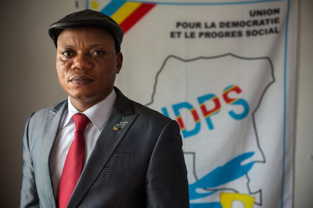 Le président intérimaire de l'UDPS, Jean-Marc Kabund-a-Kabund, Kinshasa, le 15 septembre 2016.