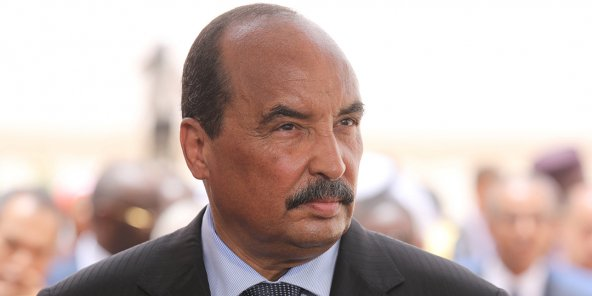 Le président mauritanien Mohamed Ould Abdelaziz, en juillet 2018.
