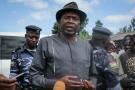 Agathon Rwasa, principal candidat de l'opposition burundaise à la présidentielle, lors du scrutin du 20 mai 2020.