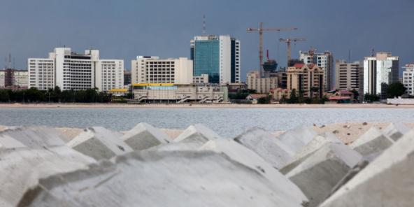 Místo Ekko Atlantic City, v Lagosu (foto ilustrace).