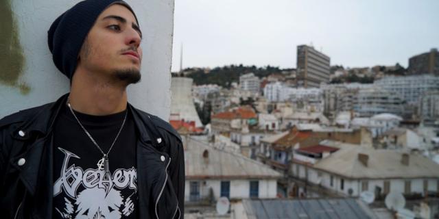 """Mustapha Kessous, réalisateur du film """"Algérie, mon amour""""."""