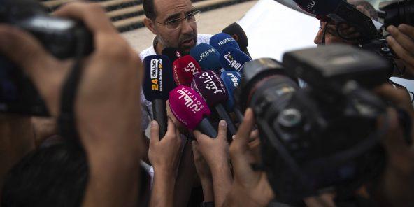 Abdelmoula El Marouri, Anwältin von Souleimane Raissouni, am 30. September 2019 in Rabat.
