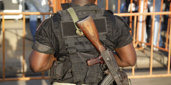 Un militaire ivoirien, à Abidjan en avril 2015. Photo d'illustration.