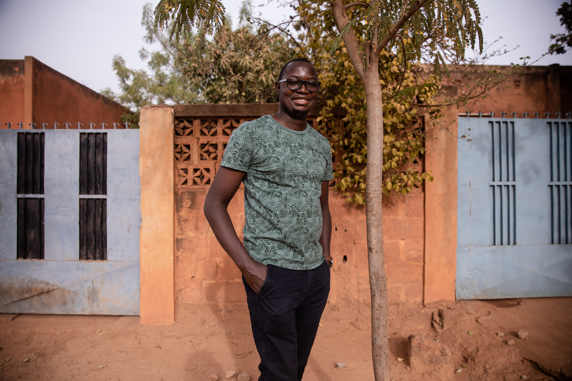 Inoussa Maïga, à Ouagadougou, le 16 mars 2020.