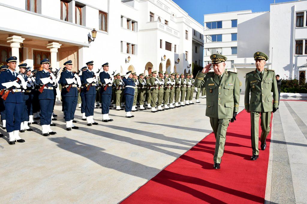 Le nouveau patron de l'armée, Saïd Chengriha, chef d'état-major par intérim.