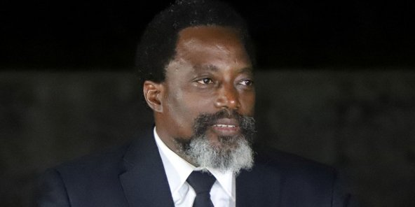 Joseph Kabila, alors président de la RDC, en août 2018.