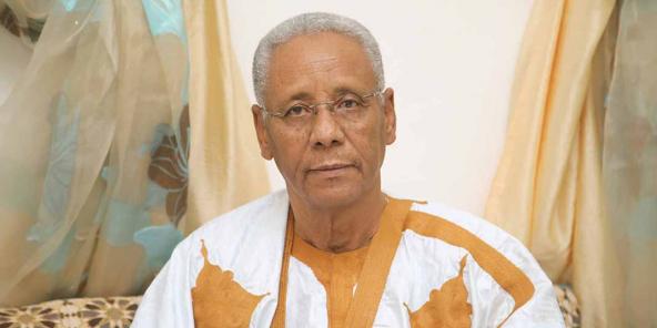 Le président de la Commission d'enquête parlementaire, Habib Ould Brahim Diah, le 26 mai 2020.