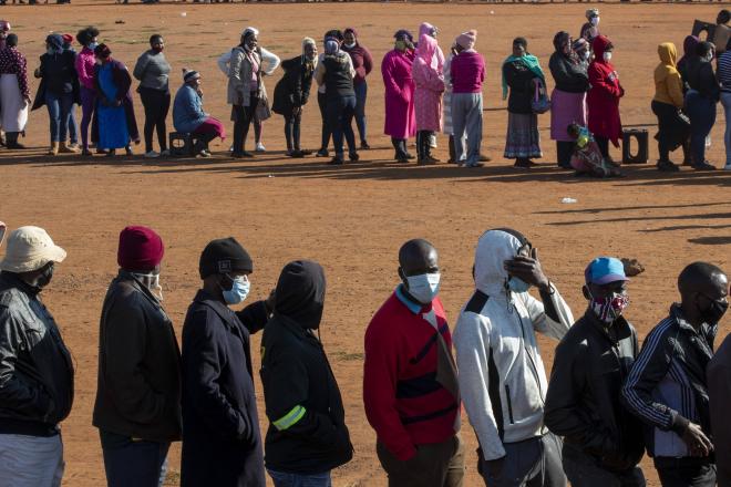 """Afrique du Sud : """"La pandémie de coronavirus va s'aggraver"""", selon Cyril Ramaphosa"""