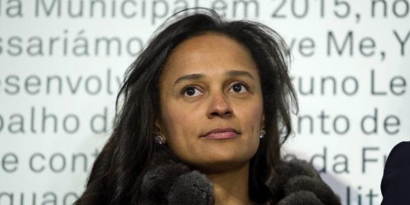 Isabel dos Santos, ici à Porto le 5 mars 2015, était absente à l'audience.