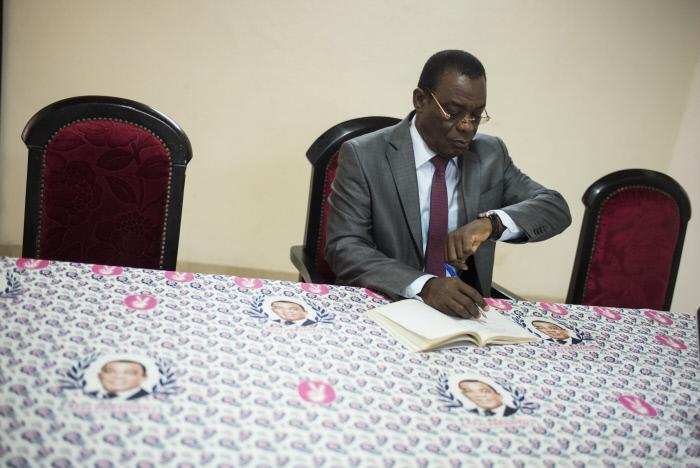 Pascal Affi N'Guessan, à Abidjan en mars 2016 (archives).
