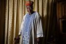 Maître Frédéric Titinga Pacéré, avocat et chef traditionnel burkinabè. le 9 mars 2020.