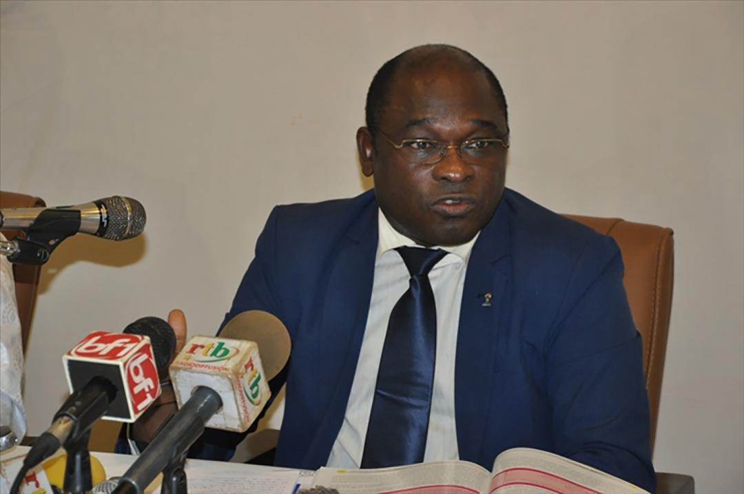 Dramane Milogo, en charge des dossiers industrie, commerce et artisanat à la primature burkinabè.
