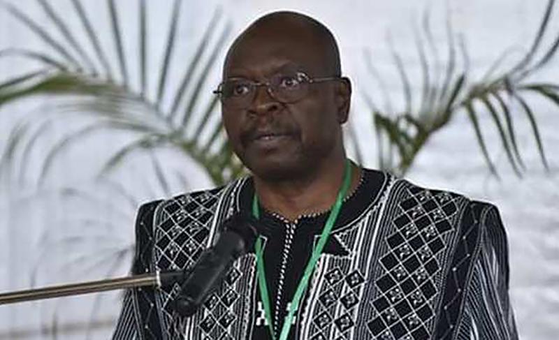 Magloire Somé, conseiller spéical du Ptremier ministre burkinabè pour le dialogue social.